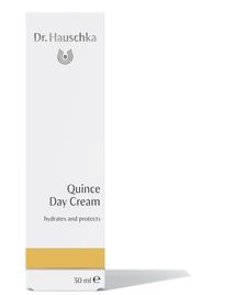 For: Normal Skin A light daily moisturizer for healthy, toned skin. Quince Day Cream refreshes and protects balanced to slightly dry skin while supporting moisture content.  Formulation: Quince was forms a light, breathable protective layer to maintain moisture balance. Quince seed extract with jojoba, apricot and avocado oils firms the skin.