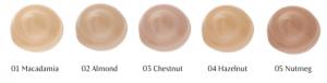 Dr. Hauschka Foundation palette