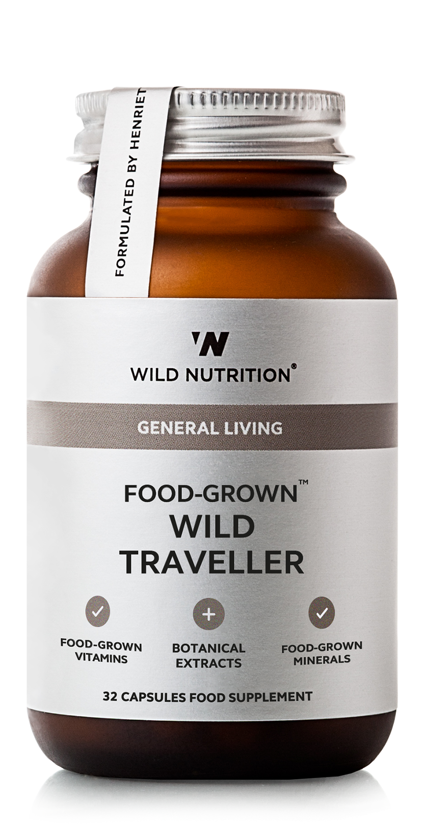 Wild Nutrition Wild Traveller Food Grown 174 Supplement
